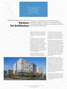Build Architecture Awards Partners for Architecture 002 226x300 Profile Partners For Architecture